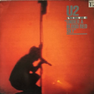 U2 ‎- Live: Under A Blood Red Sky (Mini LP) (VG/G+)